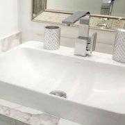 encimera de baño marmol